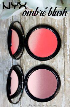 NYX Cosmetics Ombre Blush - Soft Flush & Mauve Me