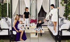 The Keeping Up with the Kardashians siblings' homes - decorated by Martyn Lawrence Bullard - are both located in the posh gated community called The Oaks of Calabasas