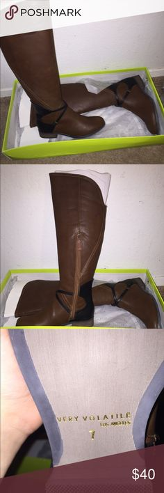 Brown Riding boots Brand new. Never worn. Shoes Over the Knee Boots
