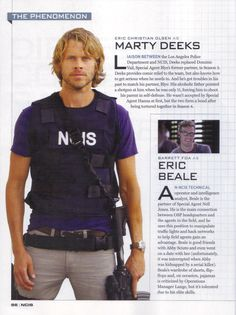 NCIS Los Angeles in CBS Watch Magazine Special Edition #NCISLA