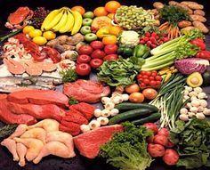 There are lots of healthy food to eat, everyday!