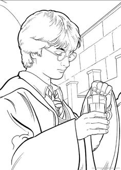 Harry Potter Coloring Pages 28 In this page you can find free printable Harry…