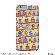 Funky Owls iPhone 6s Case