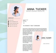 Modern resume template / resume template Professional and creative resume teacher resume Word Resume Template Cv, Modern Resume Template, Resume Templates, Microsoft Word, Resume Words, Resume Cv, Cv Design, Resume Design, Interior Design Resume