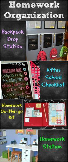 Homework Organization - get organized now!