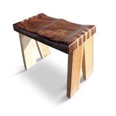 Sam Maloof Inspired Contempory Walnut Bar Stool Built By