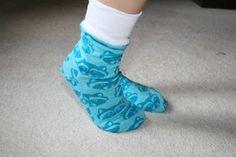 Мама Nähblog: Носок Шаблоны