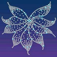 Garment Motif and Stone Work Embroidery Services Manufacturer Dot Art Painting, Mandala Painting, Mandala Art, Stone Painting, Beaded Embroidery, Embroidery Patterns, Rhinestone Crafts, Motifs Perler, Mandala Rocks