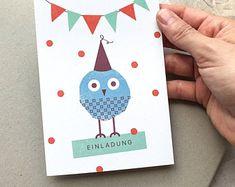 Delightful little birds designed to make you von TheKautziShop Little Birds, Little Things, Bird Design, Postcards, Make It Yourself, Vintage, How To Make, Craft Gifts, Invitations