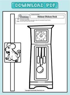 creative hands on preschool worksheets are just what a preschooler needs each hickory dickory dockpreschool