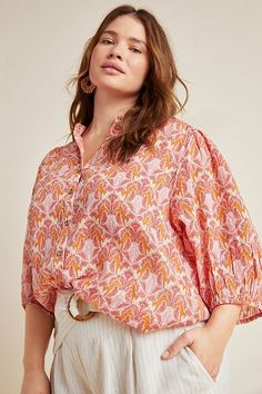 Kalapana Blouse | Anthropologie