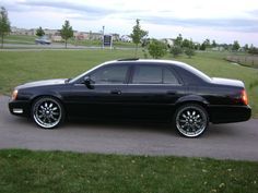 "2000 Cadillac DTS | 2000 Cadillac DTS ""Black On Black Lac Northstar"" - Pingree Grove, IL ..."