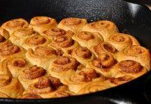 Mini-Croissant-Zimtschnecken aus der Gusspfanne