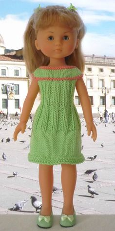 Robe pour poupée Chérie: 1) http://marieetlaines.canalblog.com/archives/2014/04/06/28430211.html 2) http://p5.storage.canalblog.com/50/79/1066432/91519501.pdf