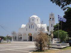 Atenas - Fotografía: Paulo Portugal Mykonos, Santorini, Notre Dame, Portugal, Mansions, House Styles, Building, Travel, Home Decor