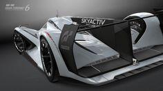 Mazda LM55 Vision Gran Turismo, lo último para Gran Turismo 6