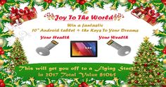 Win a 10 Android Tablet and USB Keys (01/08/2017) {WW} via... sweepstakes IFTTT reddit giveaways freebies contests