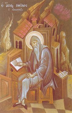 Mystagogy Resource Center is an International Orthodox Christian Ministry headed by John Sanidopoulos. Byzantine Icons, Byzantine Art, Religious Icons, Religious Art, Catholic Saints, Patron Saints, Writing Icon, Faith Of Our Fathers, Greek Icons