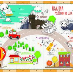 Mapa, ktorá vznikla spoluprácou nášho grafika Roba a ilustrátorky Edit Sliackej. Sťahujte!