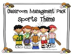 Classroom Management Pack - SPORTS Theme from Creation Station on TeachersNotebook.com (53 pages)  - Looking for a SLAM DUNK this school year? This sports themed back-to-school pack is just what you need!