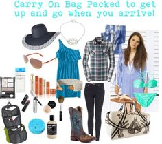 Packing tips for a long trip….
