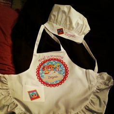Lalaloopsy  apron and hat