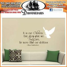 It is our choices that show what we truly are, far more than our abilities. - Albus Dumbledore. #quotes #lifestyle