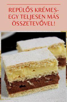 Cookie Recipes, Dessert Recipes, Desserts, Hungarian Recipes, Cake Bars, Vanilla Cake, Nutella, Fondant, Cheesecake