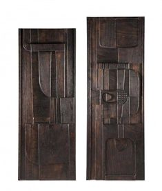 Aste Bolaffi is Gruppo Bolaffi's subsidiary managing auctions of collections Wall Sculptures, Sculpture Art, The Saleroom, Wooden Projects, Brutalist, Wall Design, Wood Art, Tall Cabinet Storage, Sculptures