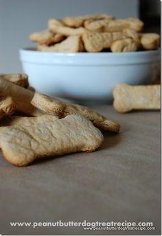 Really simple easy homemade dog treats