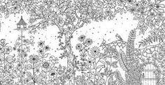 Resultado de imagem para jardim de eden para colorir