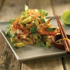 A delicious noodle recipe, that's ready in 15 minutes.