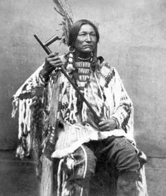 WHITE BULL , circa 1871 Nephew of Sitting Bull, famous warrior in his own right, participated in the battle of Little Bighorn.