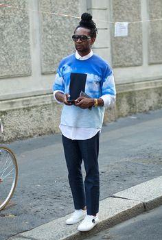 Milan Fashion Week Men Spring Summer 2015  streetstyle  MFW Street Style  Boy ddd63c81e4c