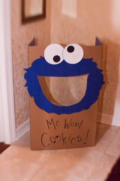 cookie monster bean bag toss game - Google Search