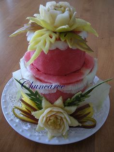 Apple Melon Cake, via Flickr.