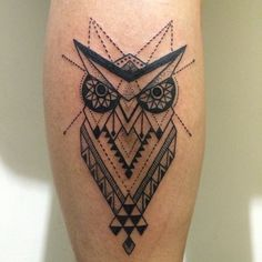 #owl #mandela #sacredgeometry #tattoo #inked #lineworktattoo #symmetrical…