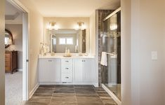 Everything's Included by Lennar, the leading homebuilder of new homes for sale in the nation's most desirable real estate markets. New Home Communities, Love Your Home, New Homes For Sale, Double Vanity, Building A House, Mirror, Bathroom, Furniture, Home Decor