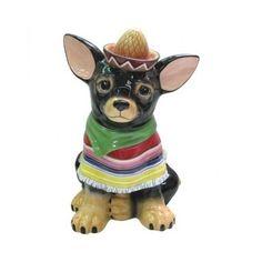 Westland Giftware Aye Chihuahua Raul Cookie Jar, 12-Inch Dog Puppy