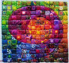 Swirly by polymerclaybeads, via Flickr