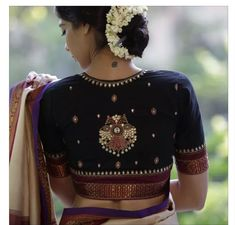 Buy this Festive Wear Navy Blue Colored Designer Blouse at best price from fastroly which aims to become fashion brand in india by providing best designs in sarees with cash on delivery facility all over India Black Blouse Designs, Best Blouse Designs, Blouse Neck Designs, Kalamkari Blouse Designs, Blouse Styles, Mary Janes, Wedding Saree Blouse Designs, Bollywood, Designer Blouse Patterns
