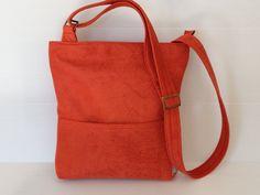 vegan messenger bag unisex bag over the shoulder by LIGONbyRuthi, $69.00