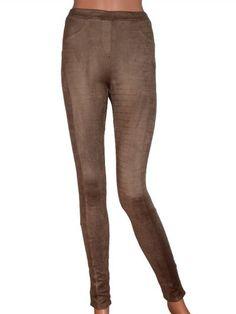 Crocco Leggings - Brown