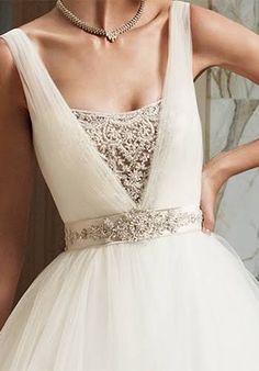 Casablanca Bridal Wedding Dresses - The Knot~beautiful details!