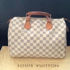 Tip: Louis Vuitton Handbag (White)