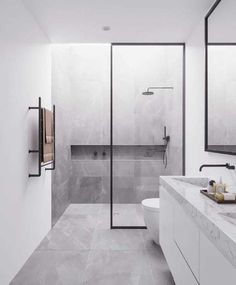 You need a lot of minimalist bathroom ideas. The minimalist bathroom design idea has many advantages. See the best collection of bathroom photos. Minimalist Bathroom Design, Interior Design Minimalist, Bathroom Design Luxury, Bathroom Layout, Modern Bathroom Design, Modern Minimalist, Bathroom Designs, Bathroom Ideas, Shower Designs