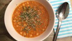 {Rezept} Wohlfühlgericht: Suppe mit roten Linsen und Kichererbsen