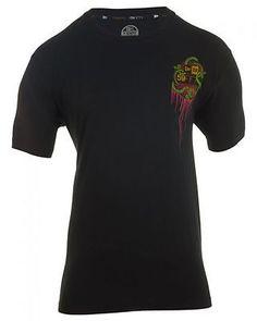 NEW ERA BAT DRIP  MENS 10052133 BLACK CLOTHING SZ-XL