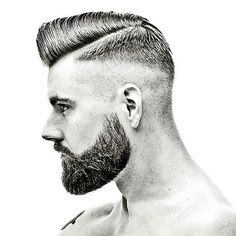 Image could contain: 1 person The Effective Pictures We Offer You About hair and beard styles gray A Cool Hairstyles For Men, Hairstyles Haircuts, Haircuts For Men, Mens Facial, Facial Hair, High And Tight Haircut, Sams Hair, Hair And Beard Styles, Hair Styles