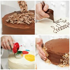 Planning a party? With our 6 Easy and Modern Cake-Decorating Ideas, you'll effortlessly turn out a special cake for family and friends.